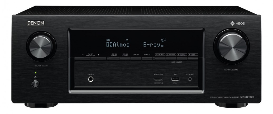 A Review on the Denon AVR-x3400h